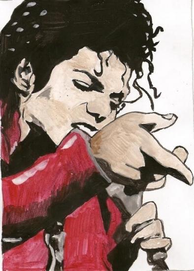 Michael Jackson by thomas